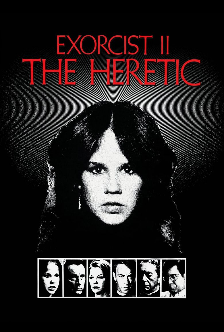 Exorcist II: The Heretic movie poster