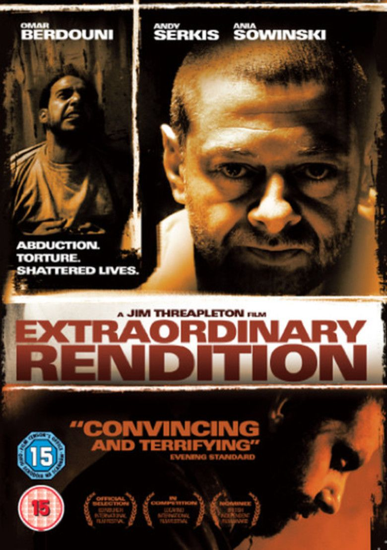 Extraordinary Rendition (film) movie poster
