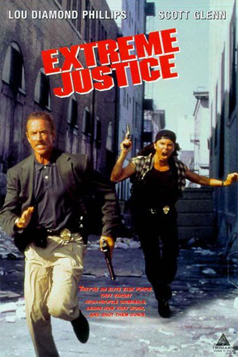 Extreme Justice (film) movie poster