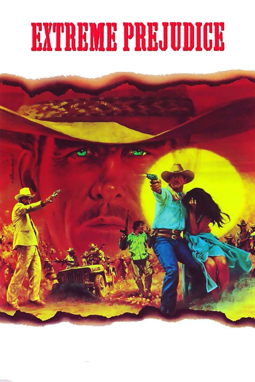 Extreme Prejudice (film) movie poster