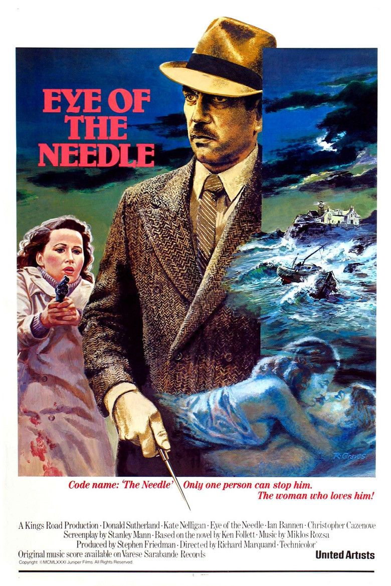 Eye of the Needle (film) movie poster