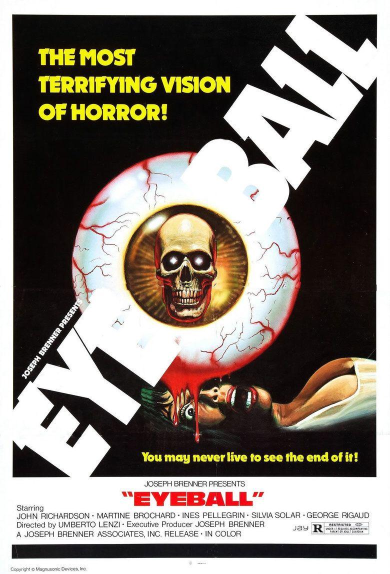Eyeball (film) movie poster