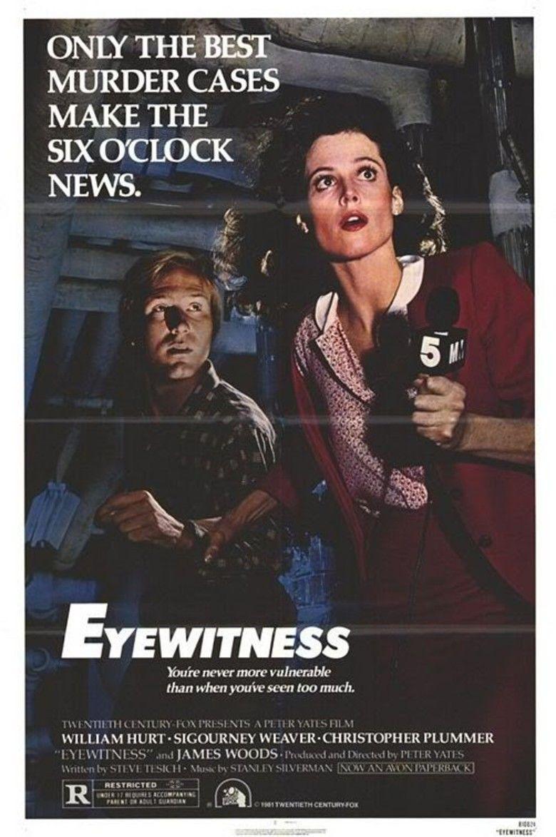 Eyewitness (1981 film) movie poster