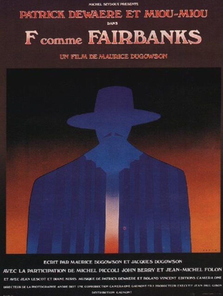 F comme Fairbanks movie poster