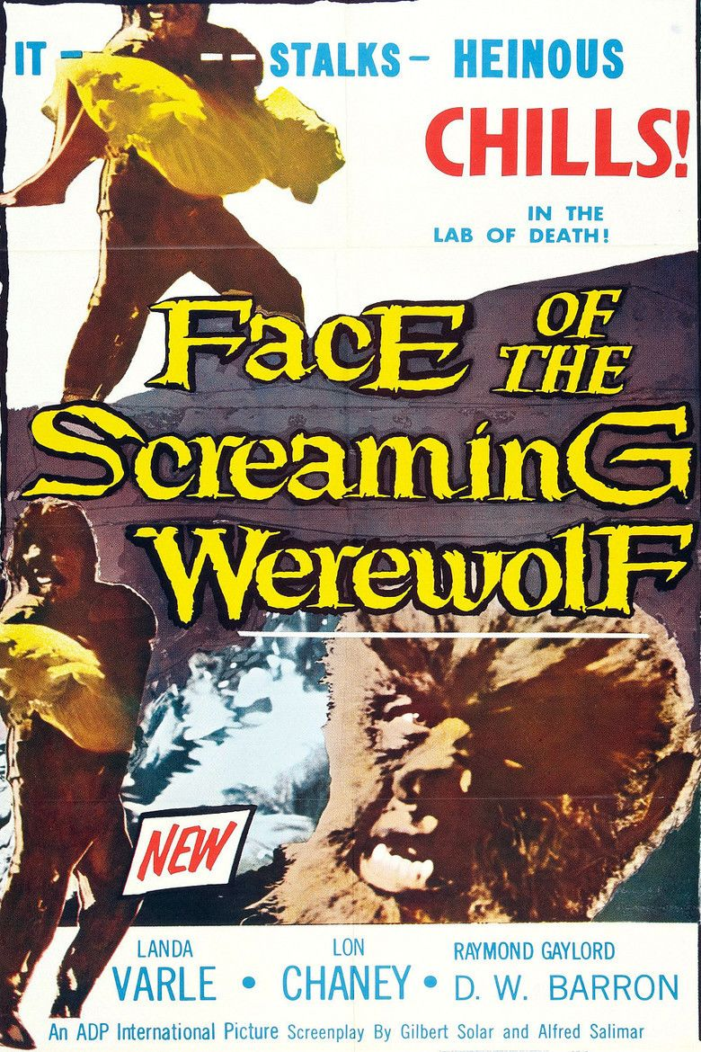 Face of the Screaming Werewolf movie poster