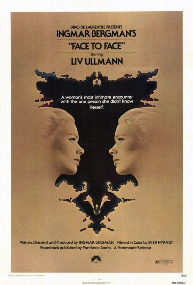 Face to Face (1976 film) movie poster