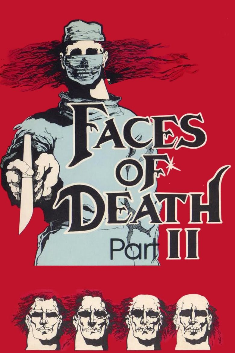 Faces of Death II movie poster