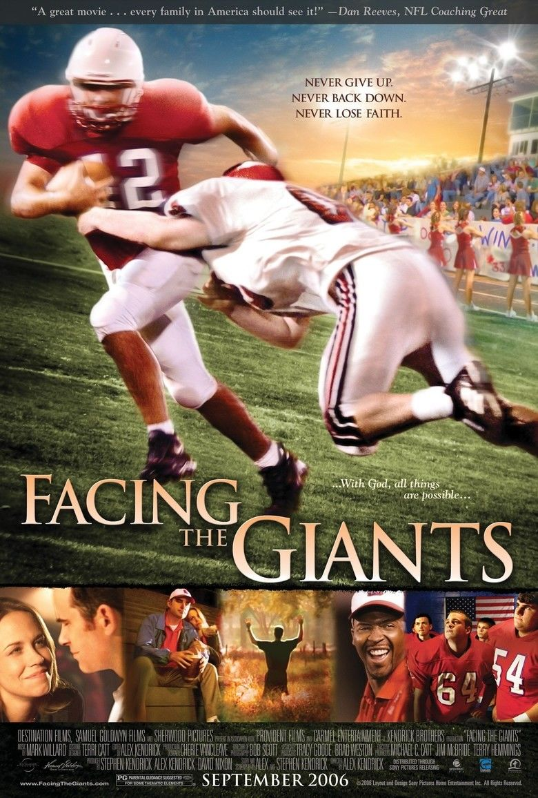 Facing the Giants movie poster