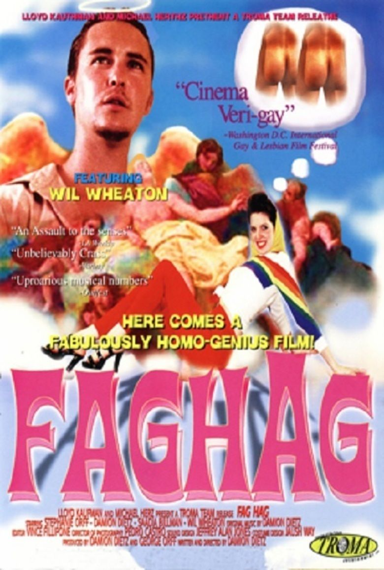 Fag Hag (film) movie poster