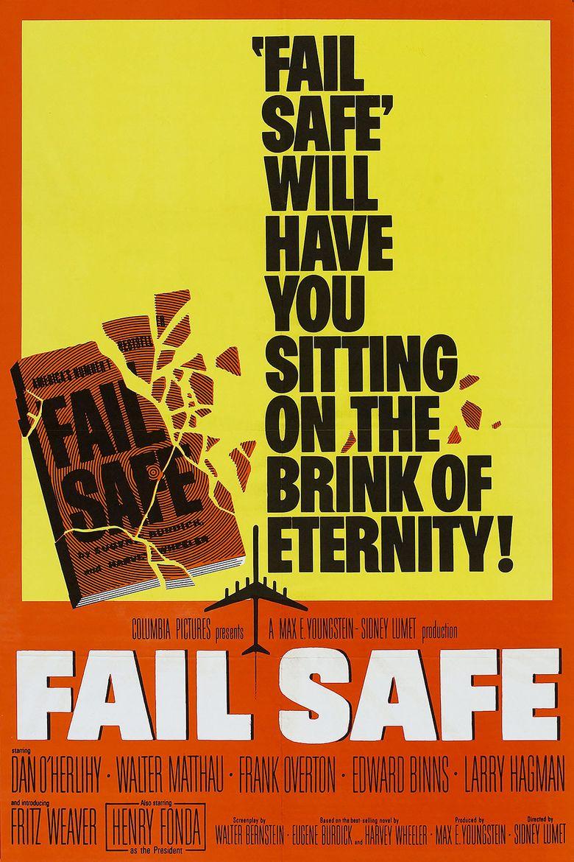 Fail Safe (1964 film) movie poster