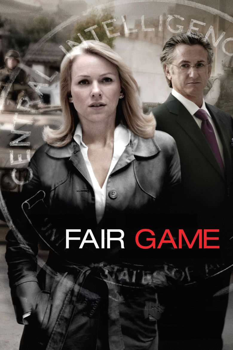 Fair Game (2010 film) movie poster