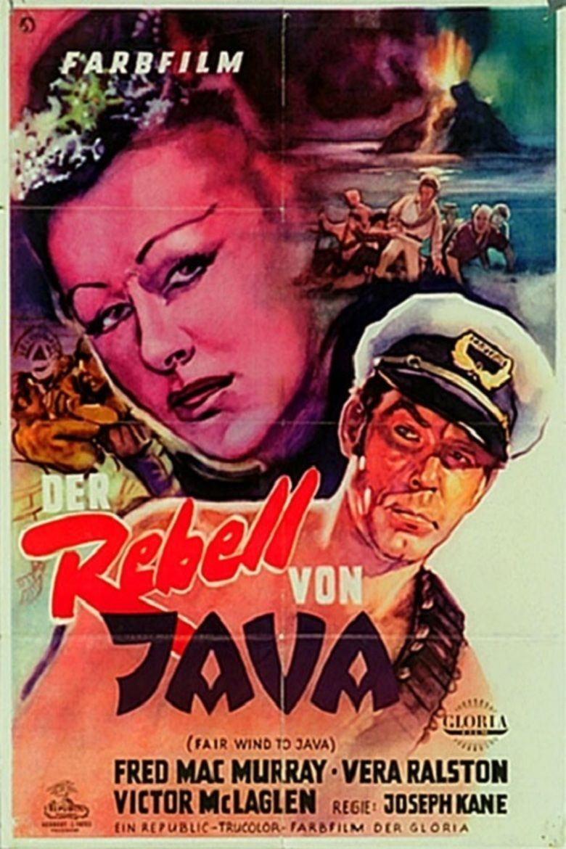 Fair Wind to Java movie poster