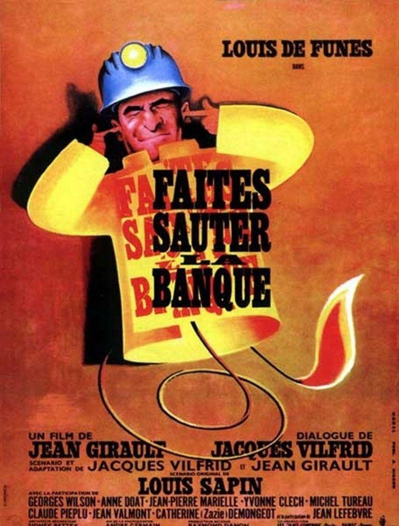 Faites sauter la banque! movie poster