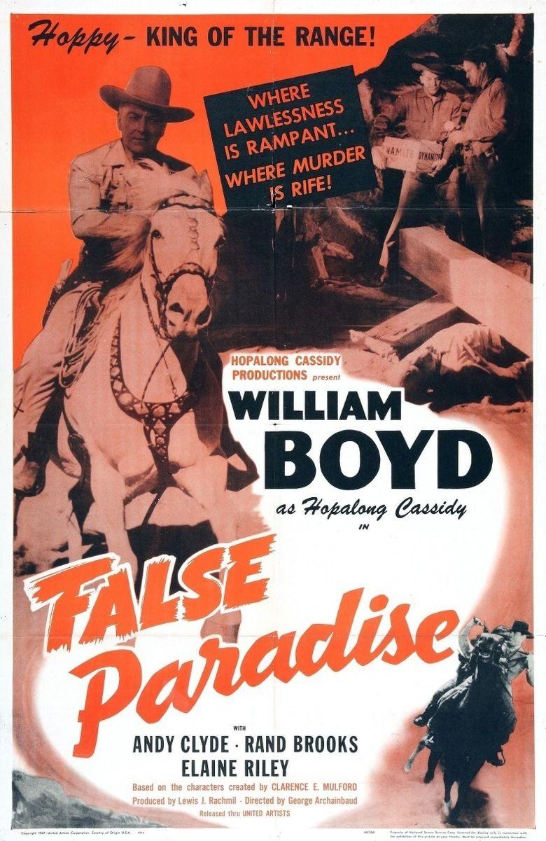 False Paradise movie poster
