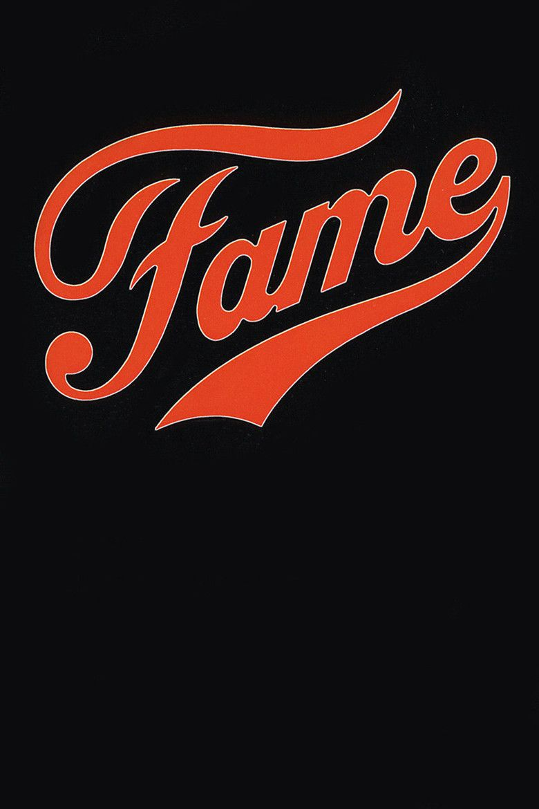 Fame (1980 film) movie poster