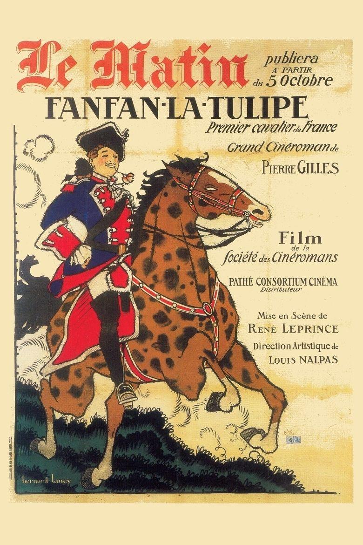 Fanfan la Tulipe (1925 film) movie poster