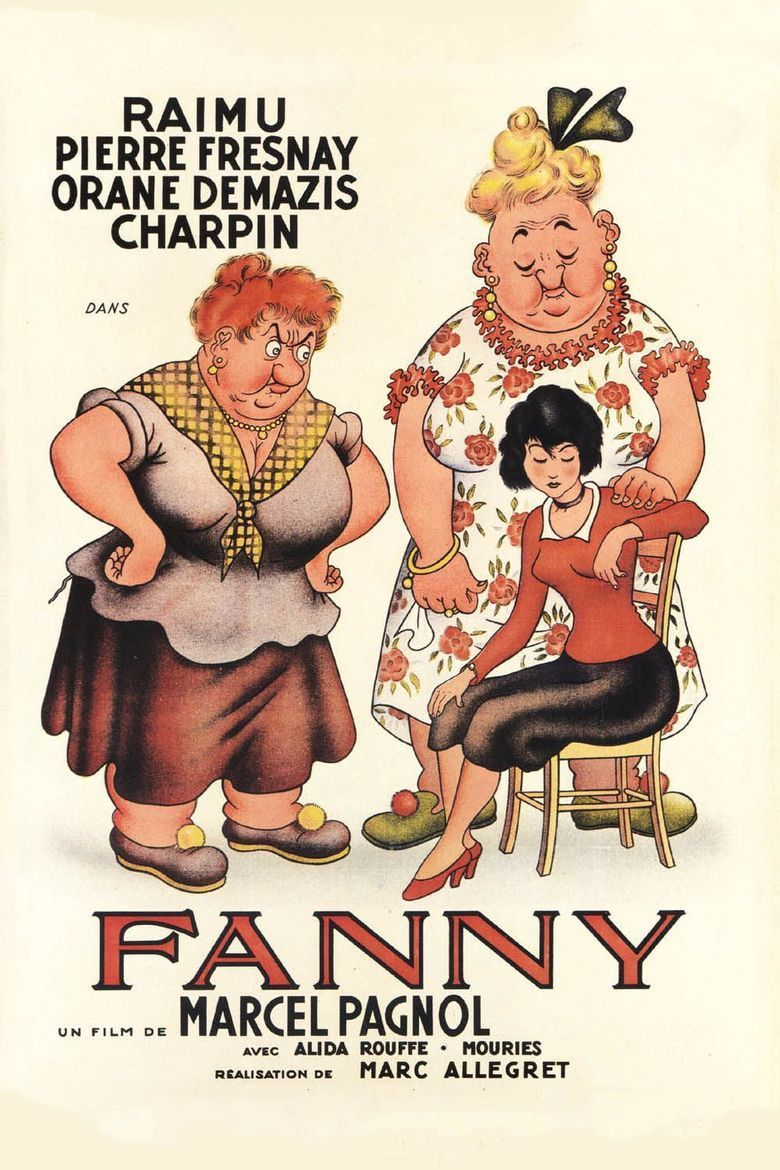 Fanny (1932 film) movie poster