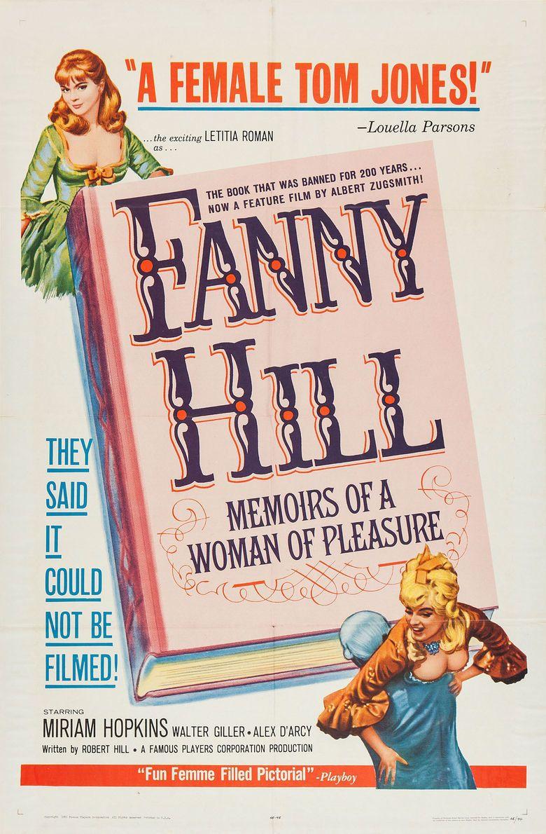 Fanny Hill (1964 film) movie poster