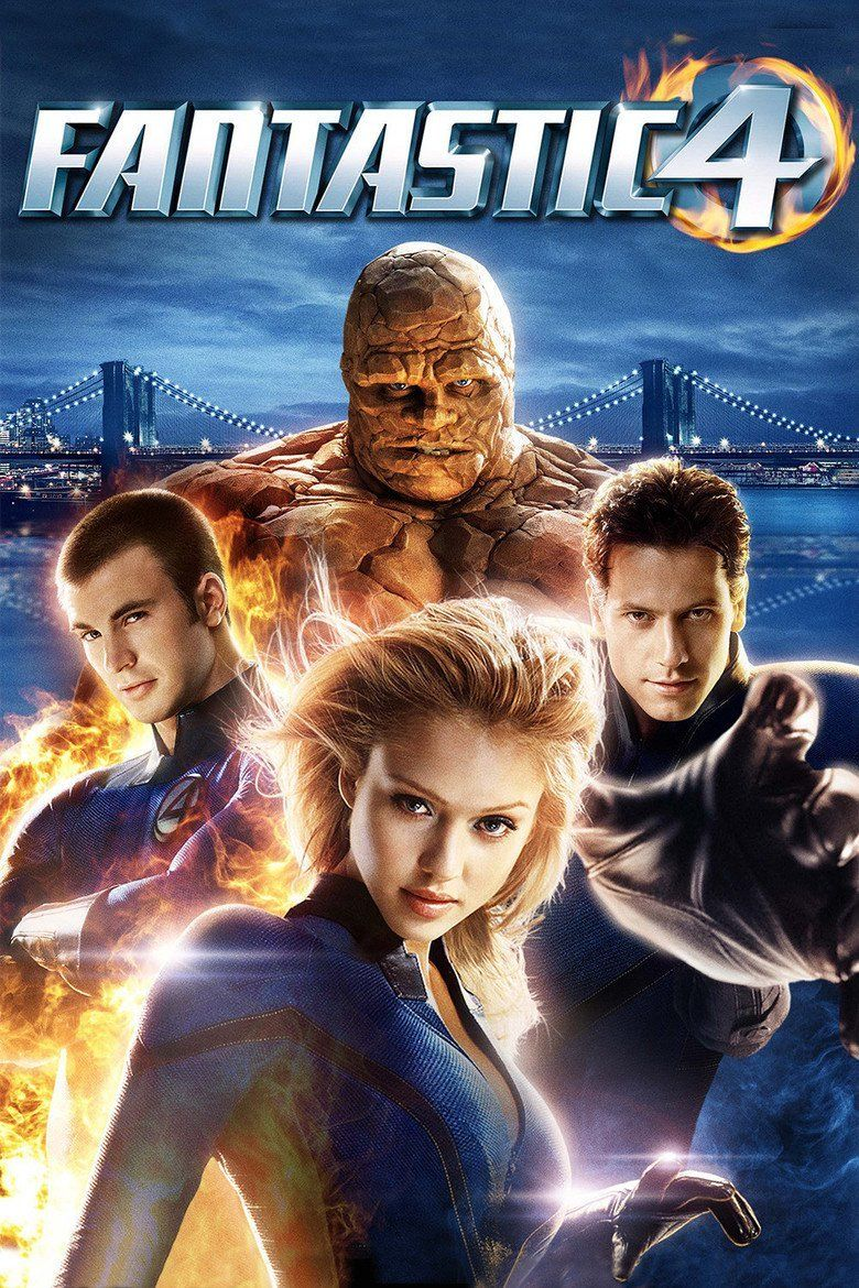 Fantastic Four (2005 film) movie poster