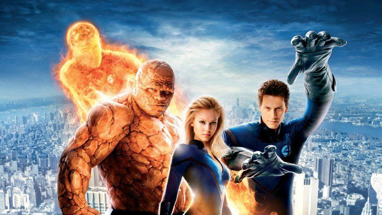 Fantastic Four (2005 film) movie scenes