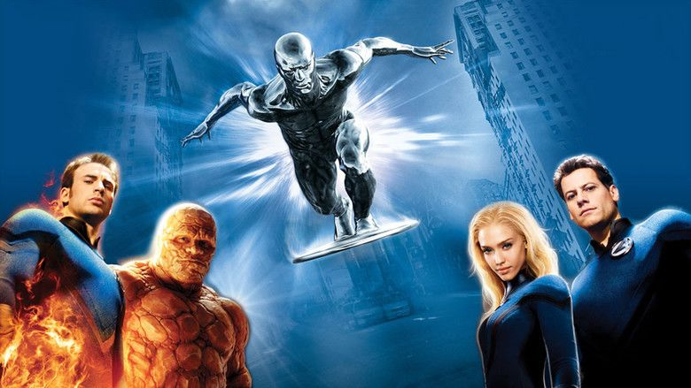 Fantastic Four: Rise of the Silver Surfer movie scenes