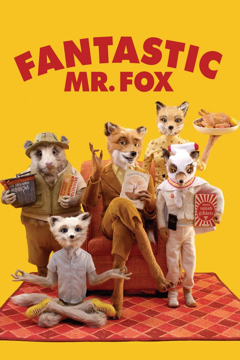 Fantastic Mr Fox (film) movie poster