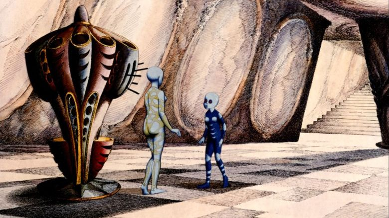 Fantastic Planet movie scenes