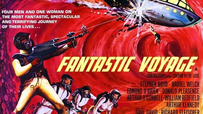 Fantastic Voyage movie scenes