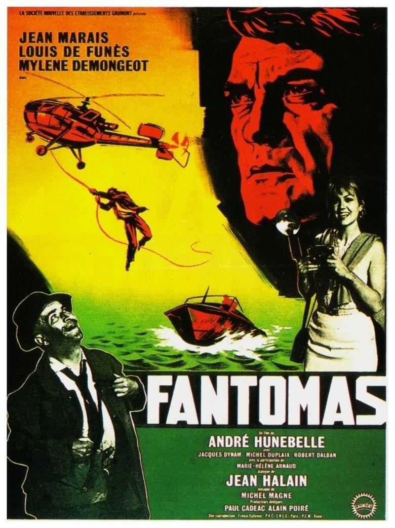 Fantomas (1964 film) movie poster