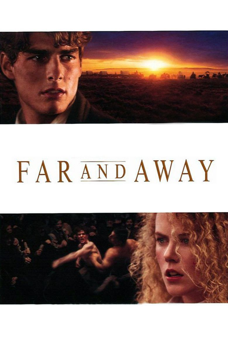 Far and Away movie poster