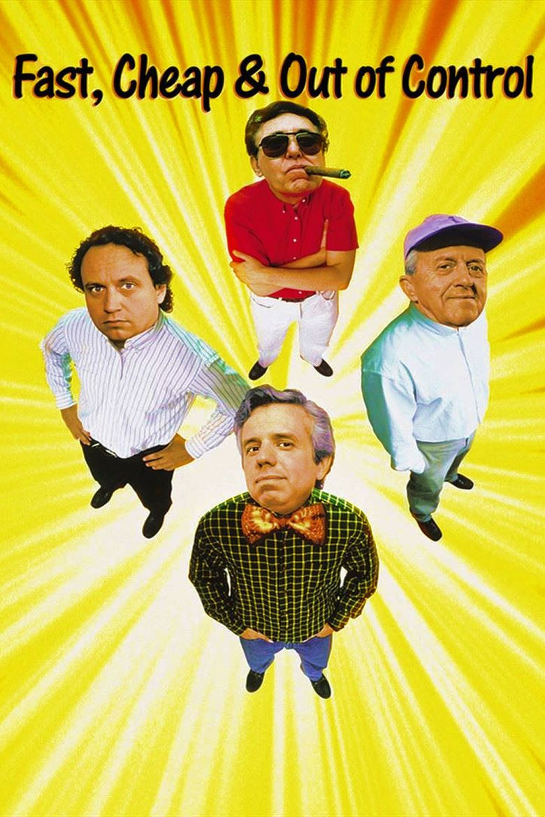 Fast, Cheap and Out of Control movie poster