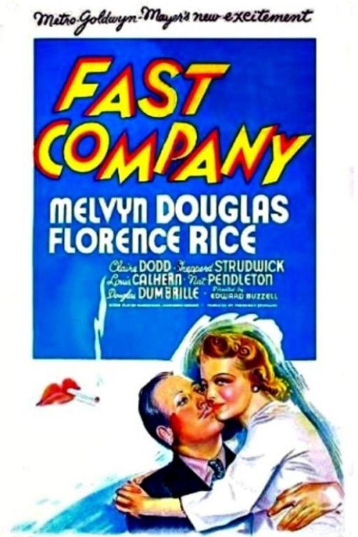 Fast Company (1938 film) movie poster