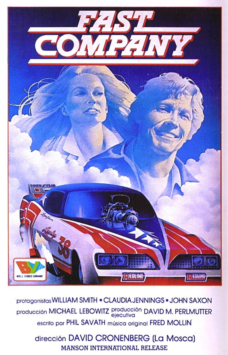 Fast Company (1979 film) movie poster