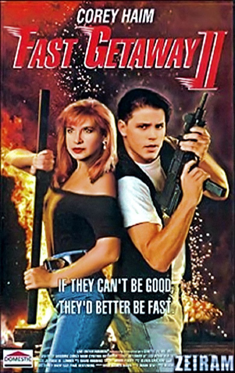Fast Getaway II movie poster