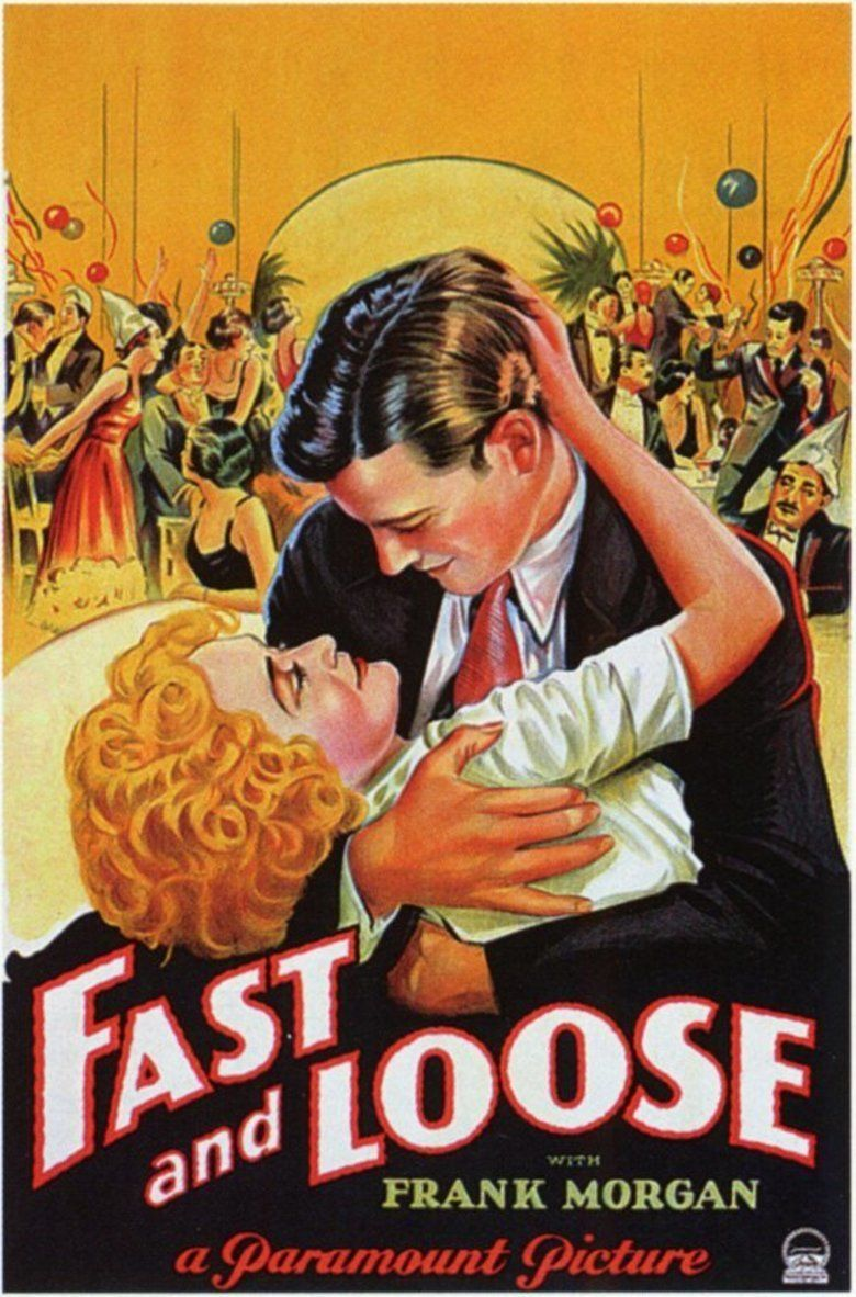 Fast and Loose (1930 film) movie poster