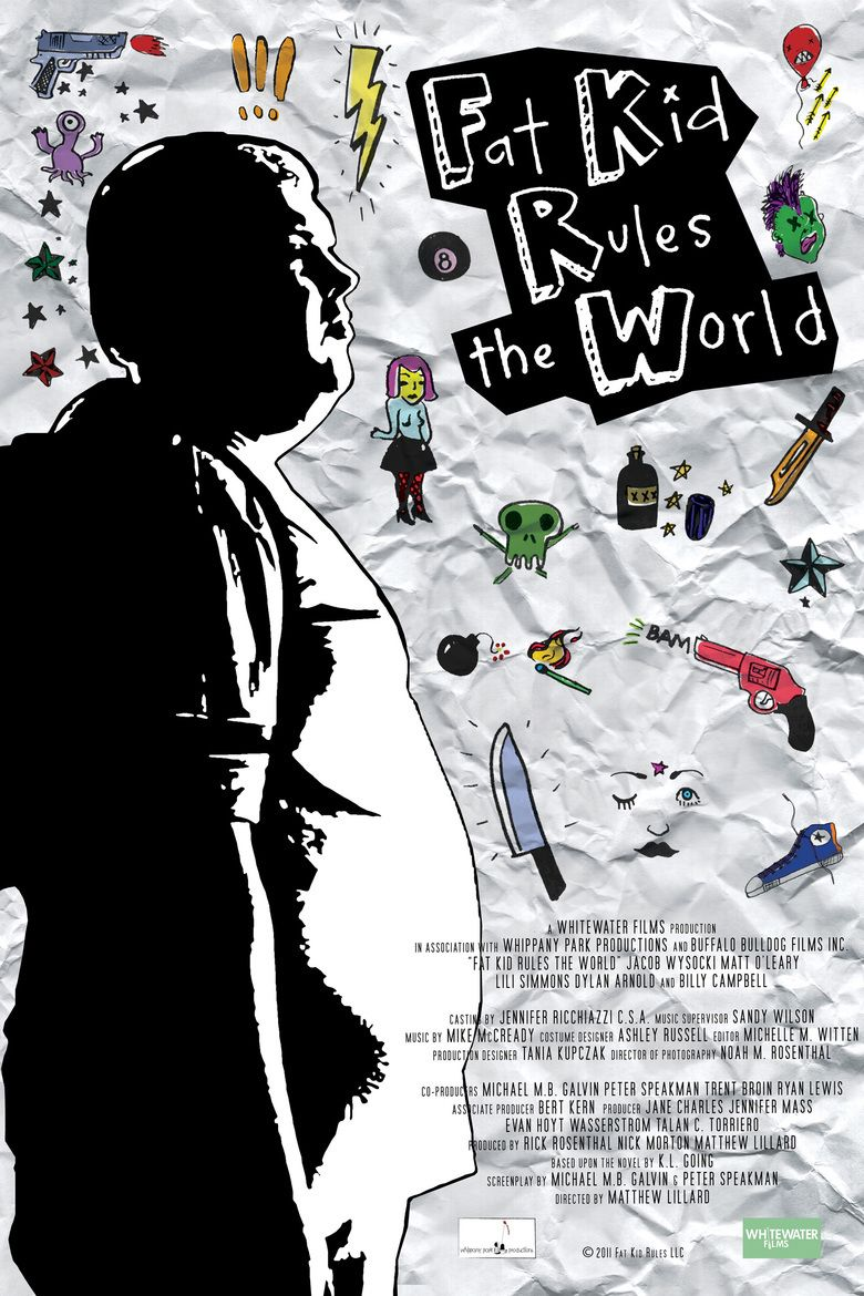 Fat Kid Rules the World (film) movie poster