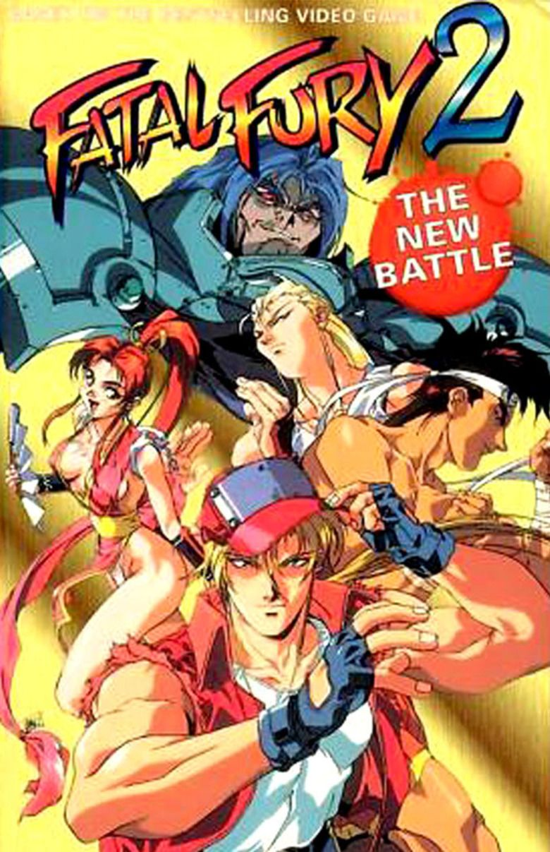 Fatal Fury 2: The New Battle movie poster