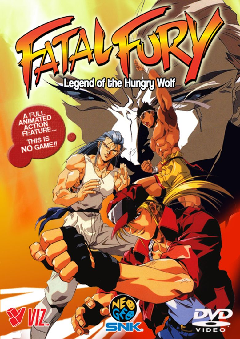 Fatal Fury: Legend of the Hungry Wolf movie poster