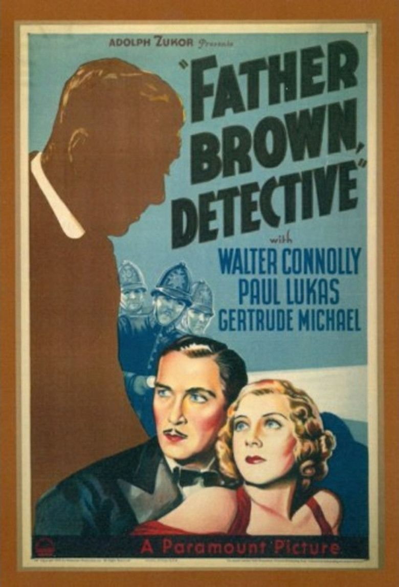 Father Brown, Detective movie poster