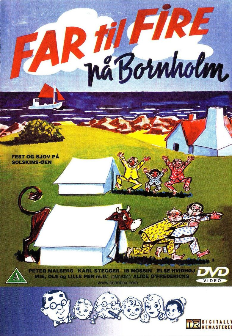 Father of Four on Bornholm movie poster