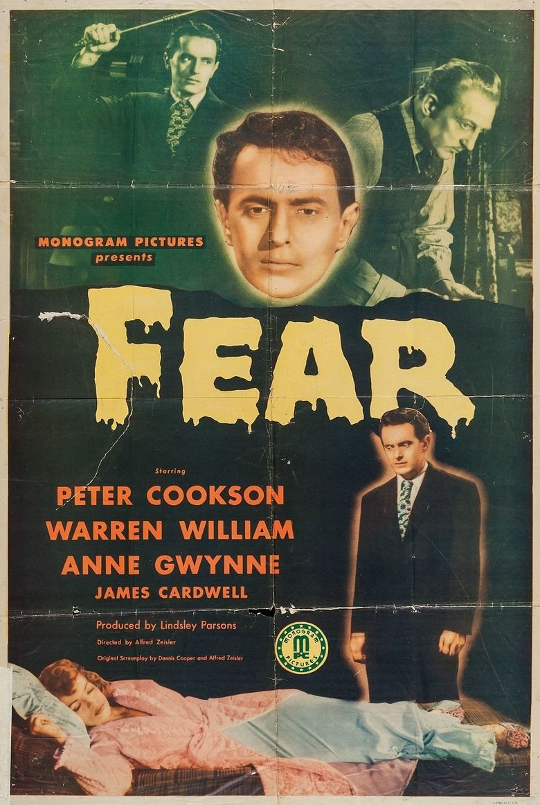 Fear (1946 film) movie poster