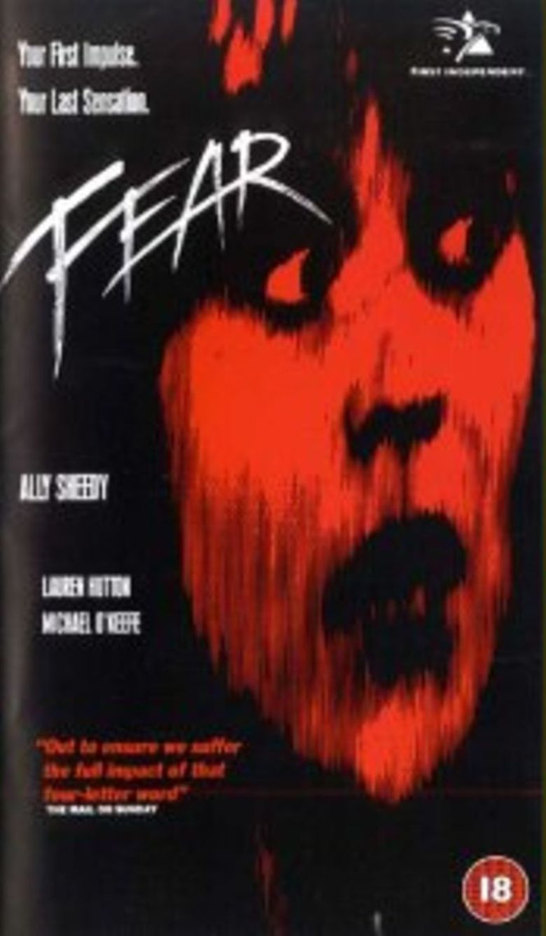 Fear (1990 film) movie poster