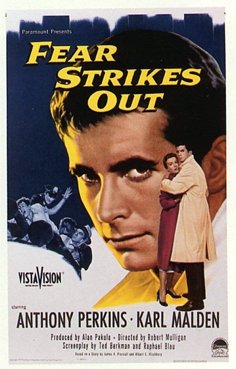 Fear Strikes Out movie poster