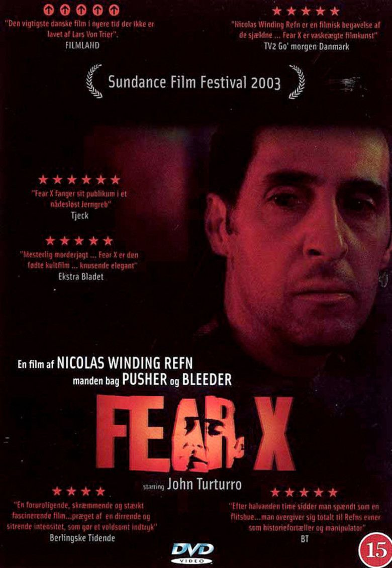 Fear X movie poster