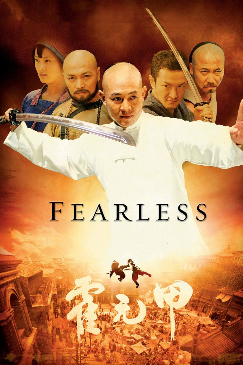 Fearless (2006 film) movie poster
