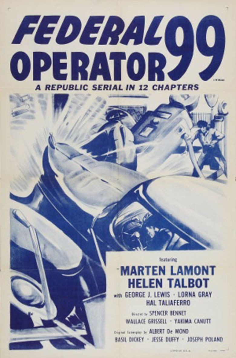 Federal Operator 99 movie poster