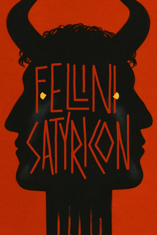 Fellini Satyricon movie poster