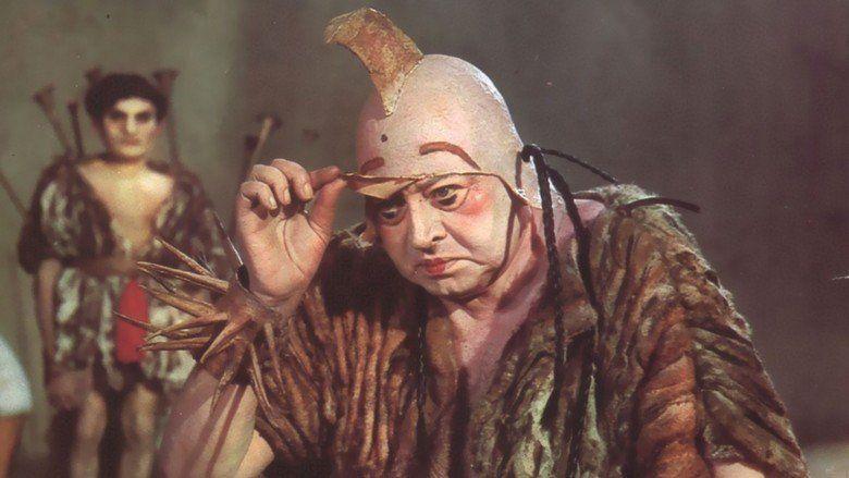 Fellini Satyricon movie scenes