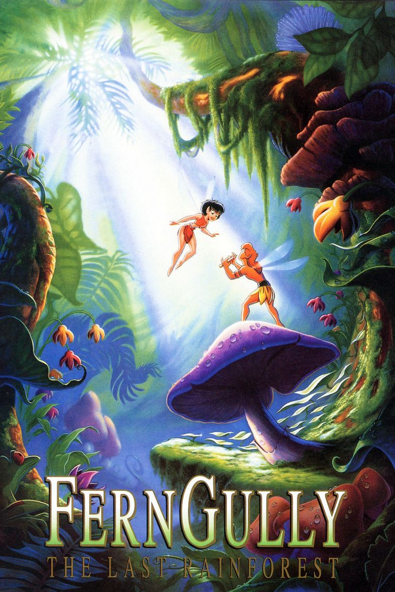 FernGully: The Last Rainforest movie poster