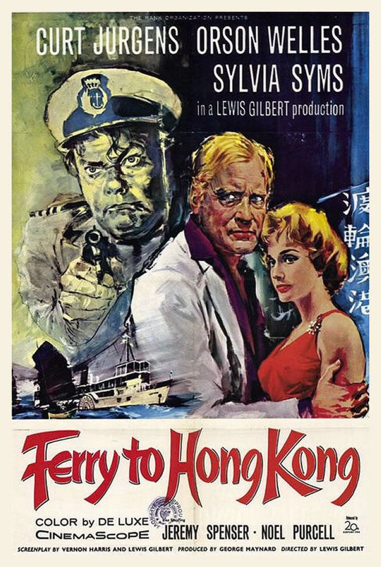 Ferry to Hong Kong movie poster